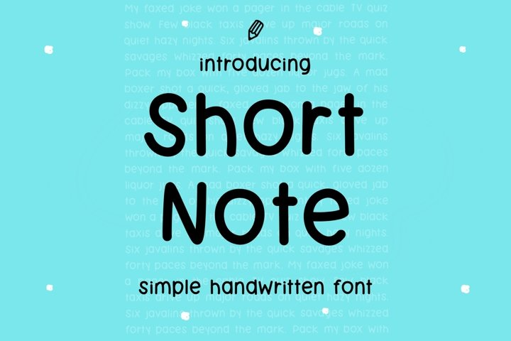 Short Note