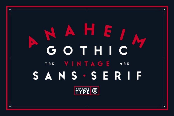 Anaheim Gothic Sans