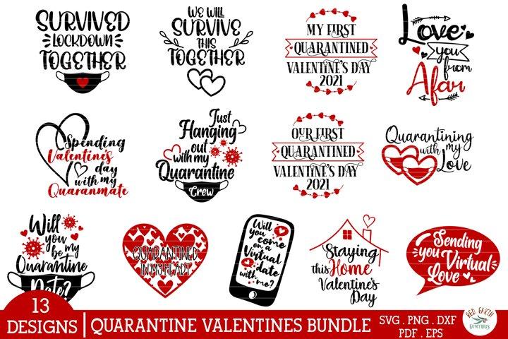 Quarantine valentines day quotes bundle SVG,PNG,DXF,love svg
