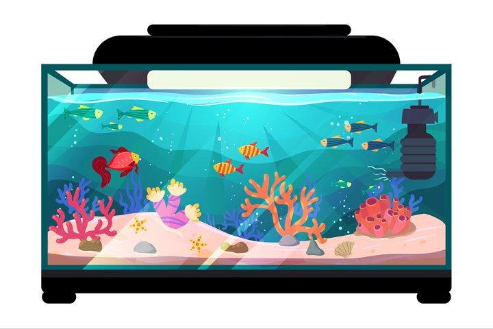 Aquarium illustration