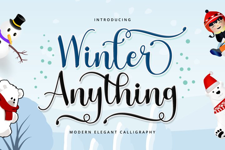Winter Anything