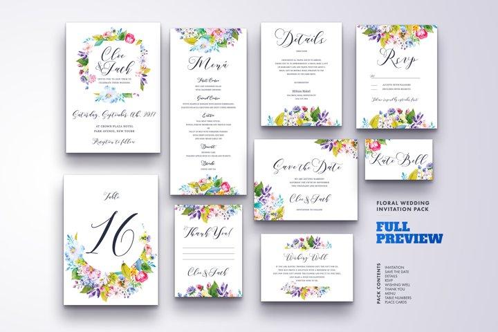 Wedding Invitation Suite Vol.3 / Save Date / Bride