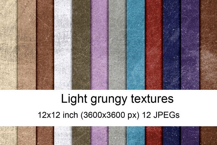 Light grungy textures