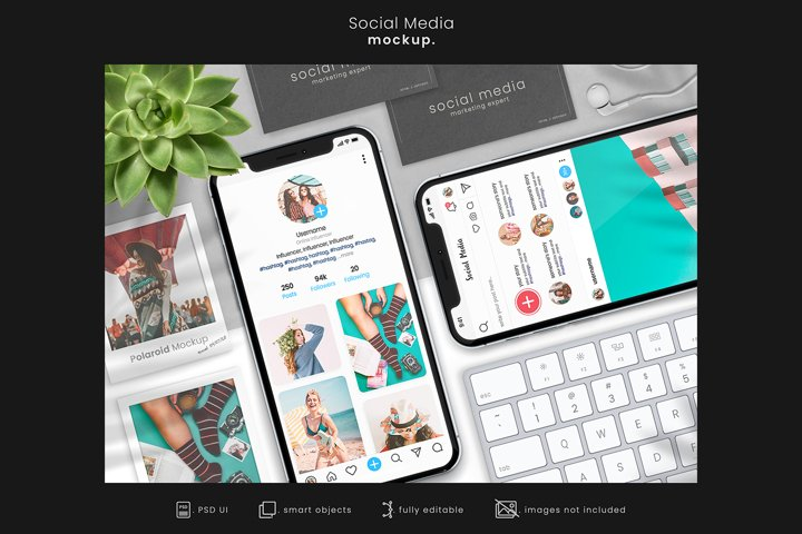 Social Media Branding Mockup for Instagram/App mockups 7