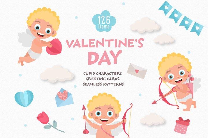 Valentines Day Graphic Set