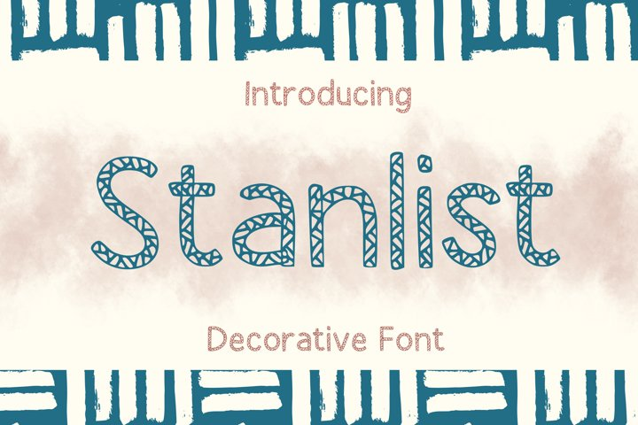 Stanlist Font