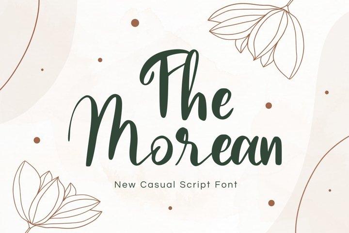 Morean Display Font