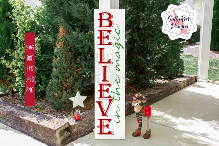 Christmas Magic SVG, Believe in the Magic svg, Chrsitmas svg