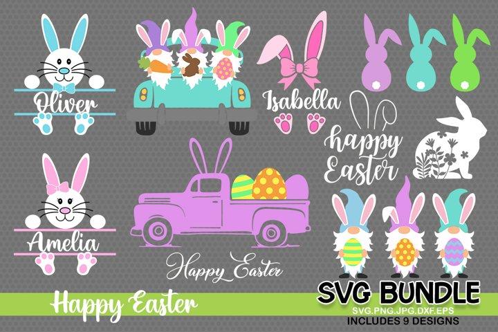 Easter SVG Bundle, Easter svg, easter bunny eggs svg