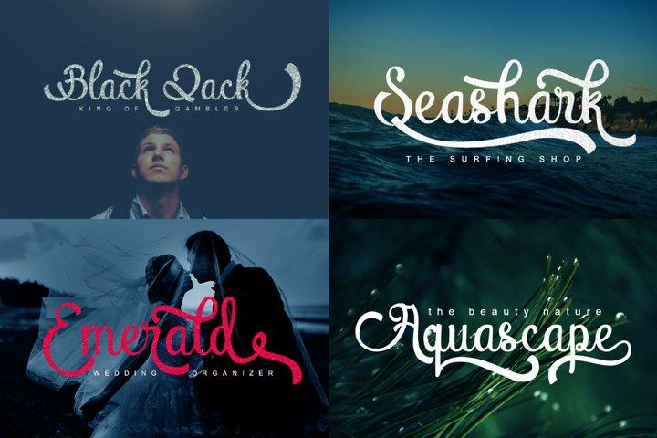 Atlantis Heart - Free Font of The Week Design0