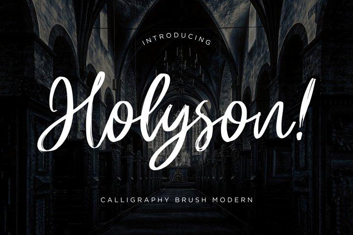 Holyson Calligraphy Brush
