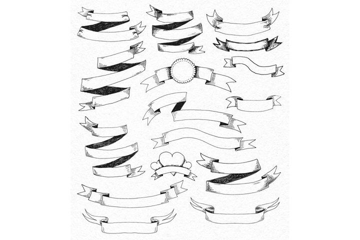 Vintage Vector Elements Set - Free Design of The Week Design1