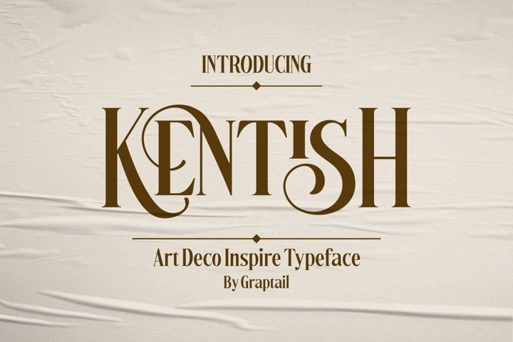 Kentish Typeface