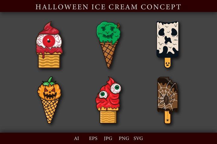 Ice Cream Halloween Bundle
