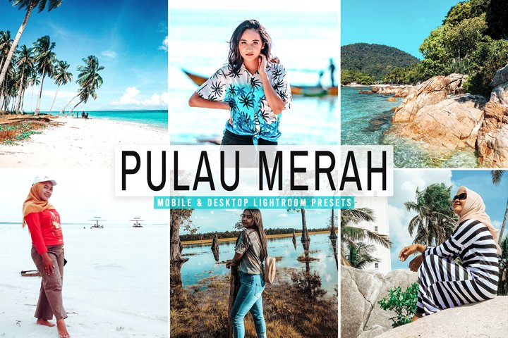 Pulau Merah Mobile & Desktop Lightroom Presets