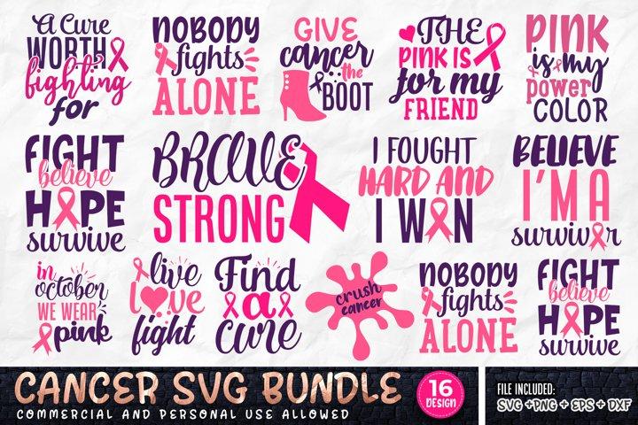 Cancer SVG Bundle