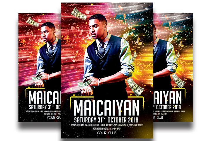 Dj Party - Flyer Template #11