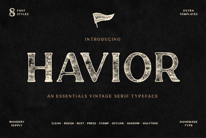 Havior Vintage Serif