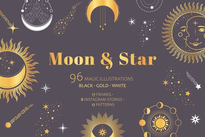 Moon & Star Magic Celestial pack