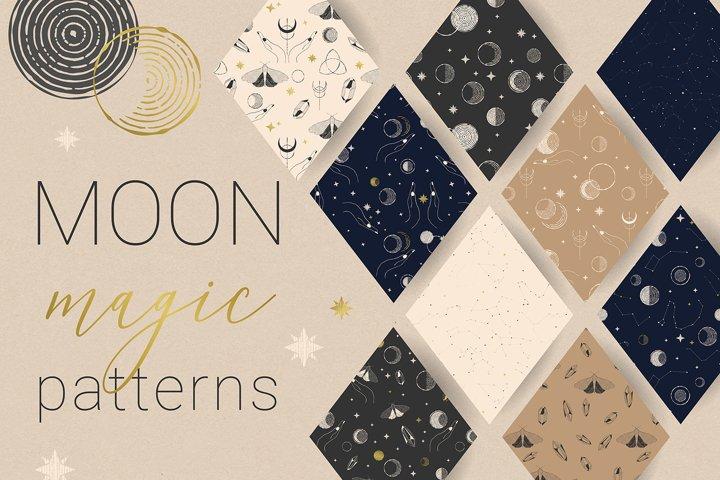 MOON magic patterns