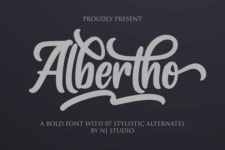 Albertho example