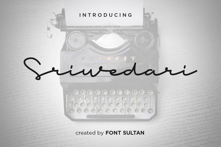 Sriwedari Signature Script