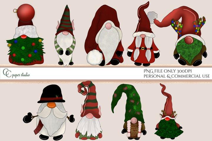 Gnomes illustration - Christmas edition