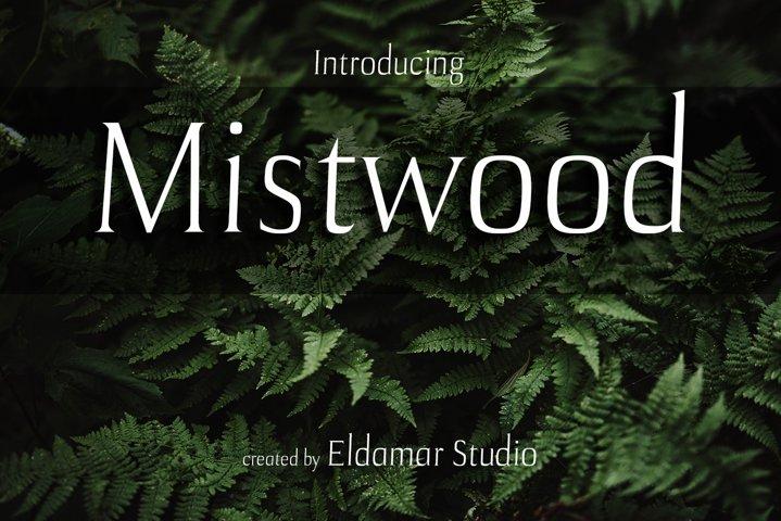 Mistwood Font