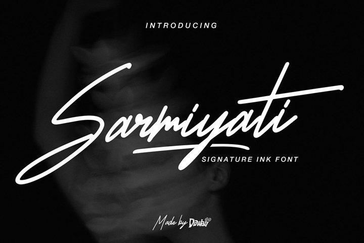 Sarmiyati Handwritten