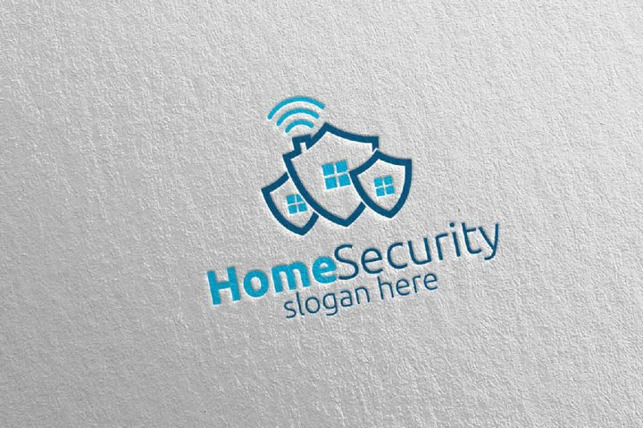 Shield Home Security Logo 7