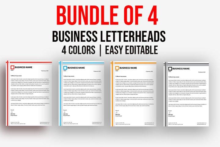 Letterhead Bundle Vol-01