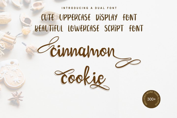 Cinnamon Cookie - Two Style Font