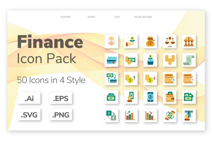 200 Finance icon pack