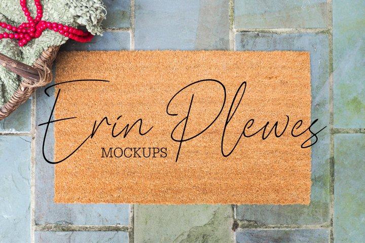 Doormat Mockup | Coir Mat Mock Up | Farmhouse Rug Mock-up