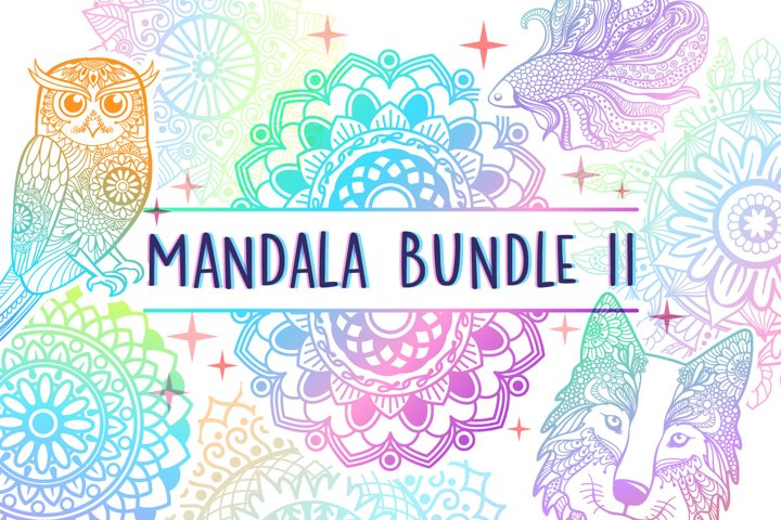 Mandala SVG Cut File Bundle II - 25 files