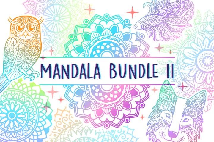 Mandala SVG Cut File Bundle II - 25 files