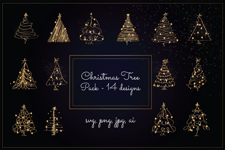 Christmas Tree Pack - Gold Version