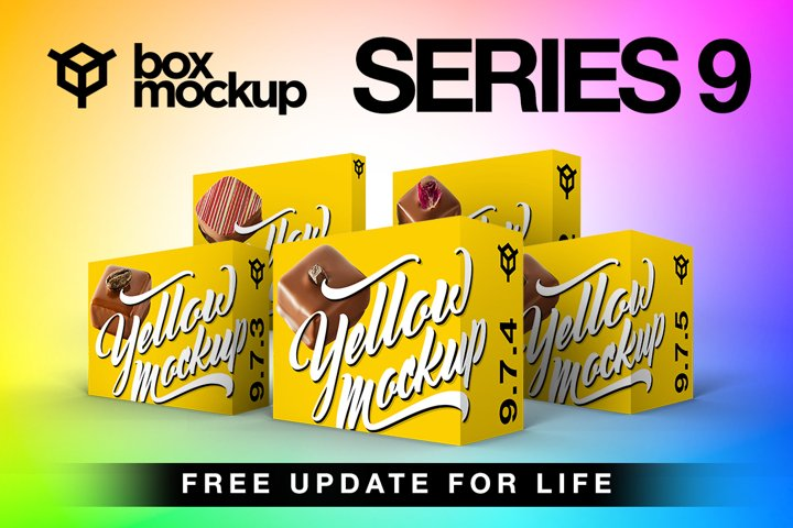 BoxMockup Series 9 Bundle