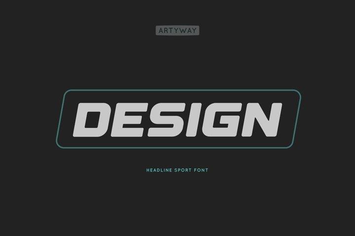 Headline Design Font