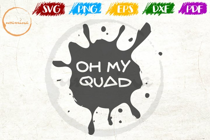 Oh My Squad Sport Quote Art
