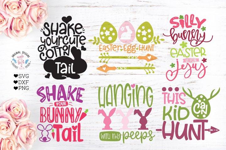 Mini Easter Kids Cut Files Bundle