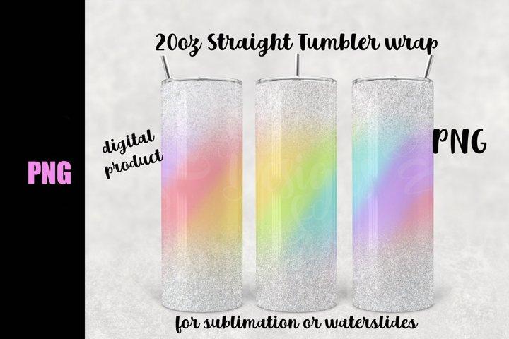 Unicorn Burst tumbler wrap - Downloadable PNG