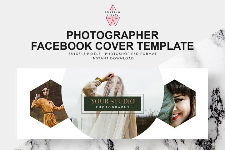 Photographer Facebook Cover Template - FBC003