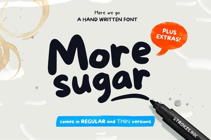 More Sugar + Extras