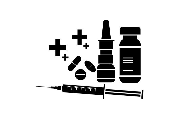 Vaccine Silhouettes