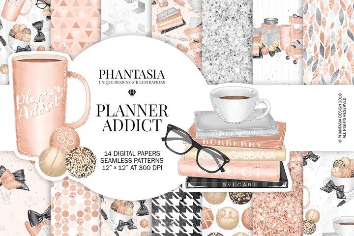 Planner Addict Digital Paper Pack