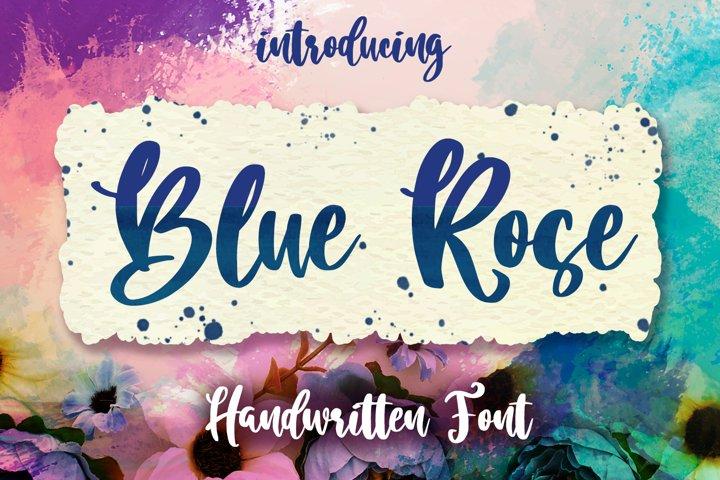 Blue Rose Script