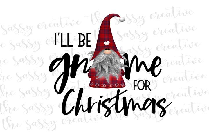 Sublimation Design | Christmas Gnome PNG File