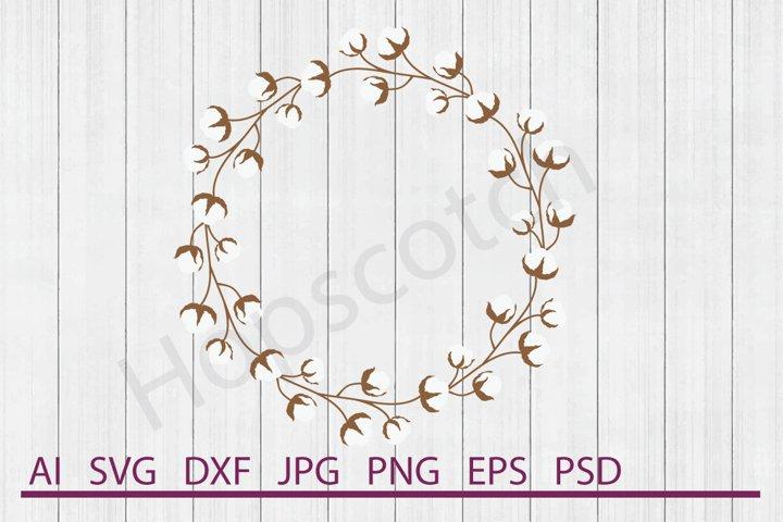 Wreath SVG, DXF File, Cuttable File