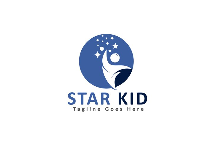 Star Kid Logo Design.